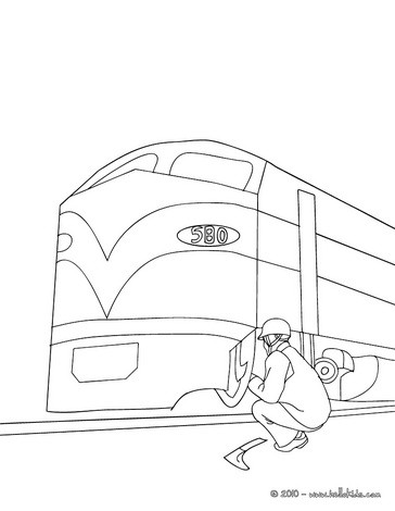 electric train coloring pages mechanic repairing an electric train coloring pages pages coloring electric train