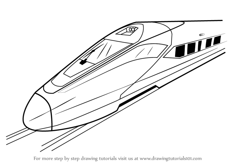 electric train coloring pages step by step how to draw a high speed electric train train electric coloring pages