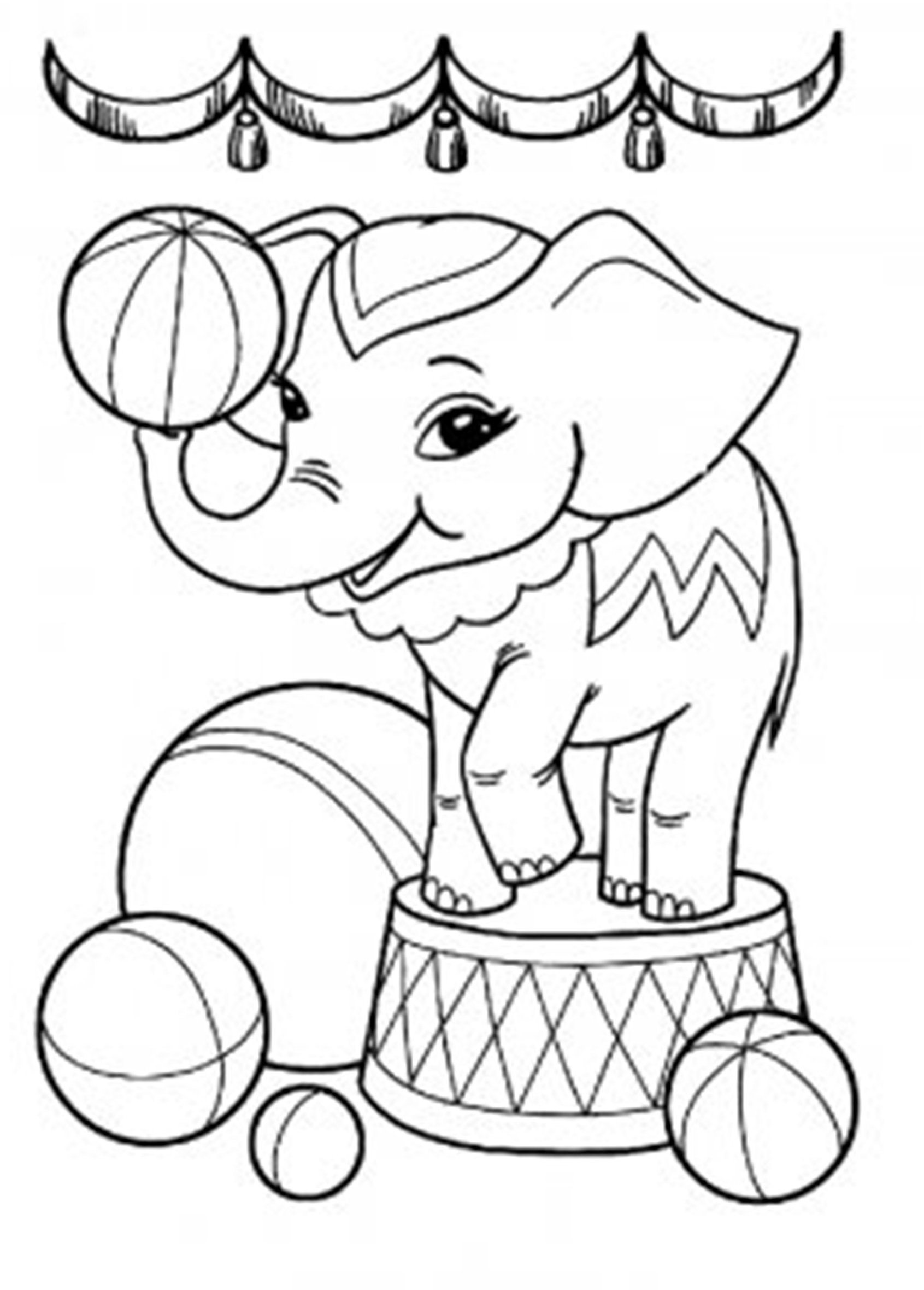 elephant color pages elephant coloring pages for kids printable for free elephant color pages