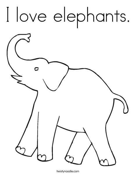 elephant trunk coloring pages clipart of a black and white elephant raising his trunk coloring elephant trunk pages