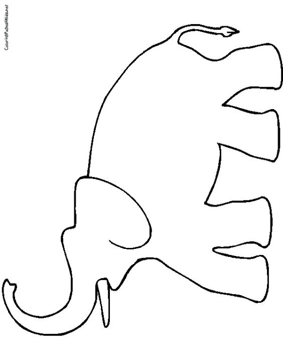 elephant trunk coloring pages printable animal masks elephant mask printable elephant elephant coloring trunk pages