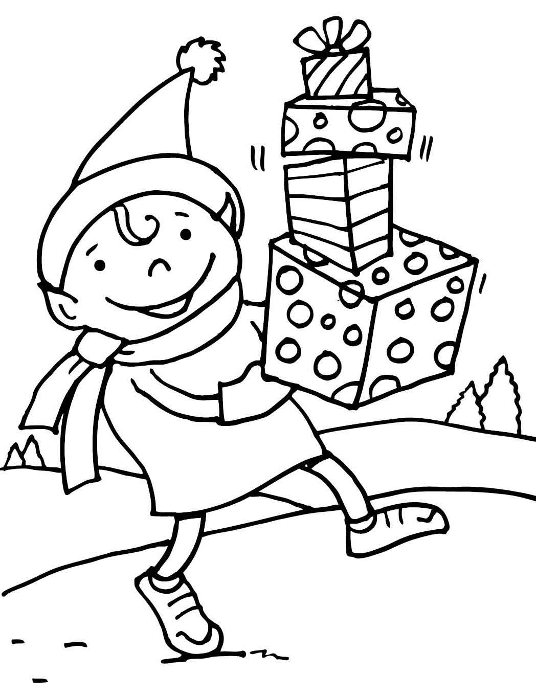 elf coloring coloring pages christmas elf coloring pages free and coloring elf