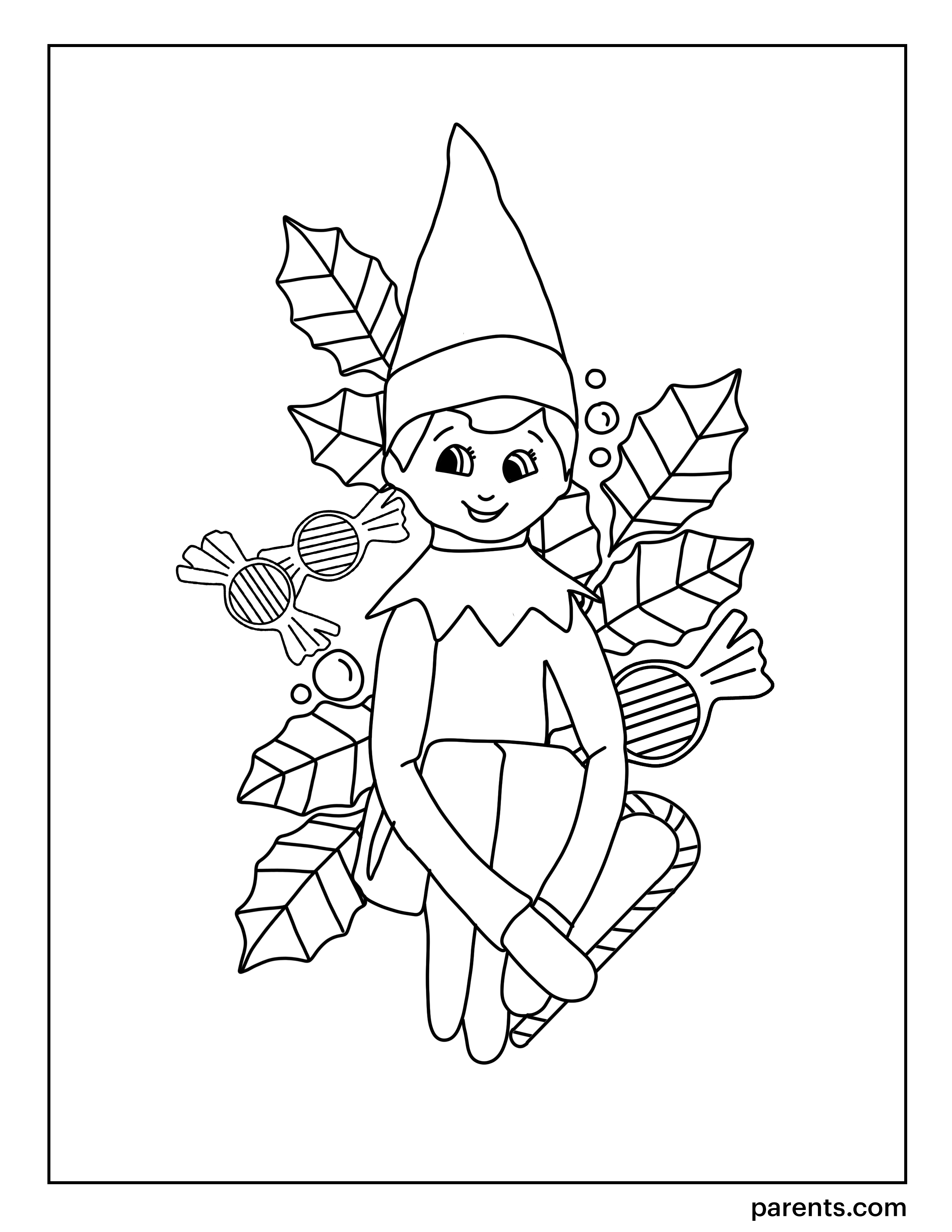elf on the shelf coloring sheets elf on the shelf vintage christmas image print him out coloring elf on sheets shelf the