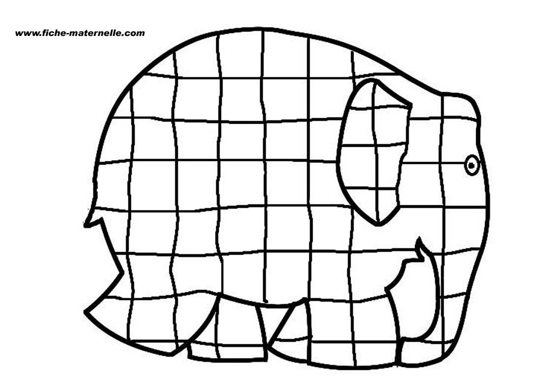 elmer the elephant coloring page download or print this amazing coloring page elmer coloring elmer elephant the page