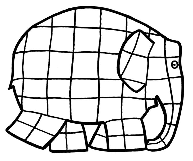 elmer the elephant coloring page elmer colouring gallery elephant elmer the coloring page