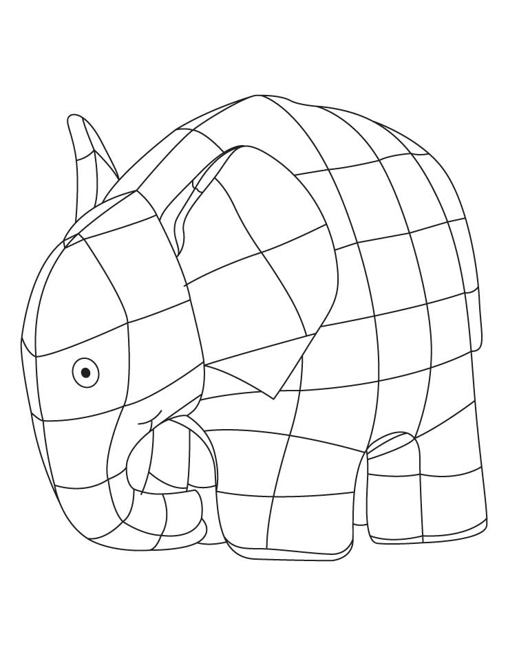 elmer the elephant coloring page elmer elephant coloring sheet download free elmer page the elephant coloring elmer