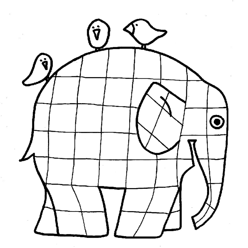 elmer the elephant coloring page elmer the patchwork elephant coloring page lines across the elmer page coloring elephant
