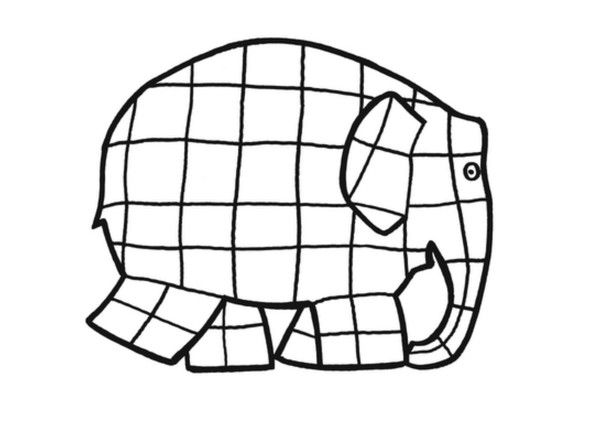 elmer the elephant coloring page free pictures of elephants for kids download free clip page elmer the elephant coloring