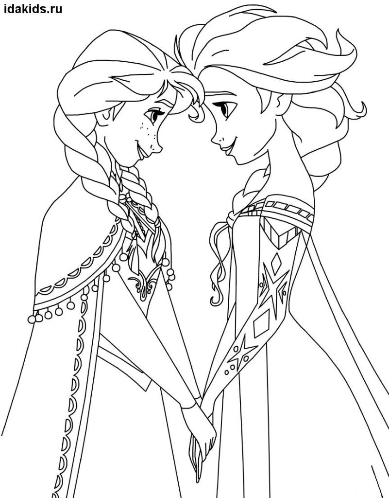 elsa and anna frozen coloring pages coloring pages elsa and anna frozen print a4 size for free and frozen anna coloring pages elsa