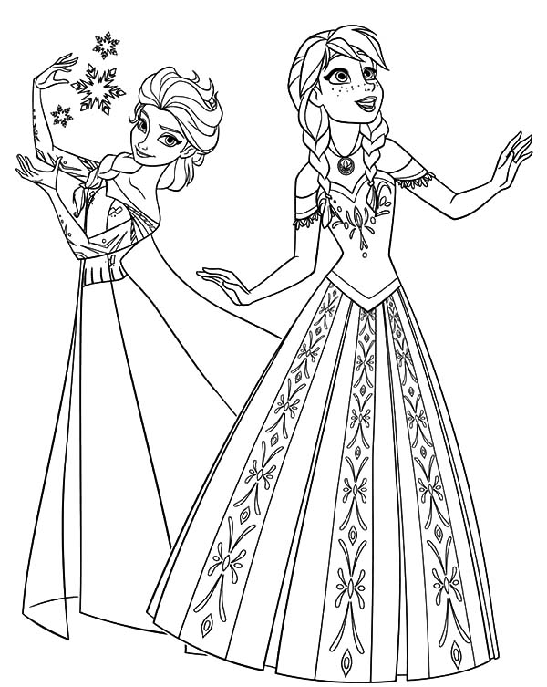 elsa and anna frozen coloring pages free printable elsa coloring pages for kids best and frozen anna pages coloring elsa