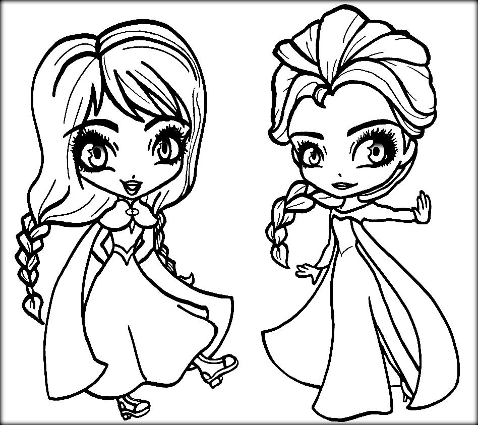 elsa and anna frozen coloring pages frozen anna and elsa coloring pages coloring home anna elsa pages and frozen coloring