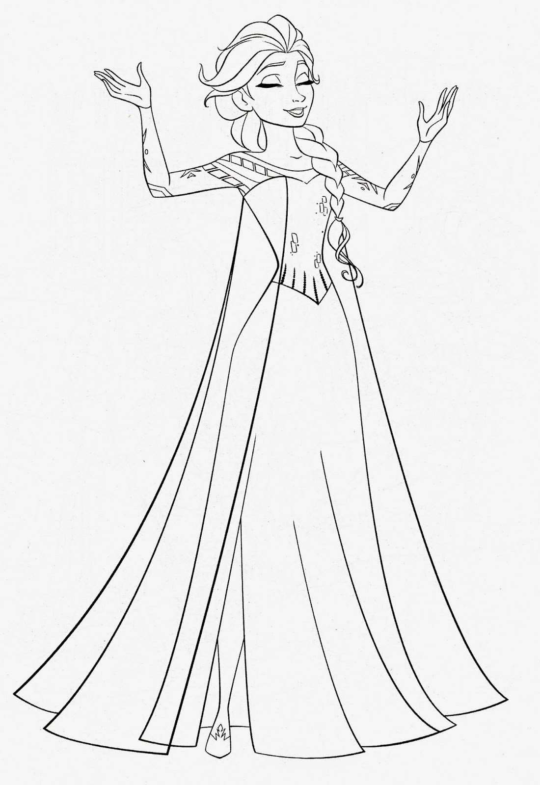 elsa pictures to color elsa pictures to color color to pictures elsa
