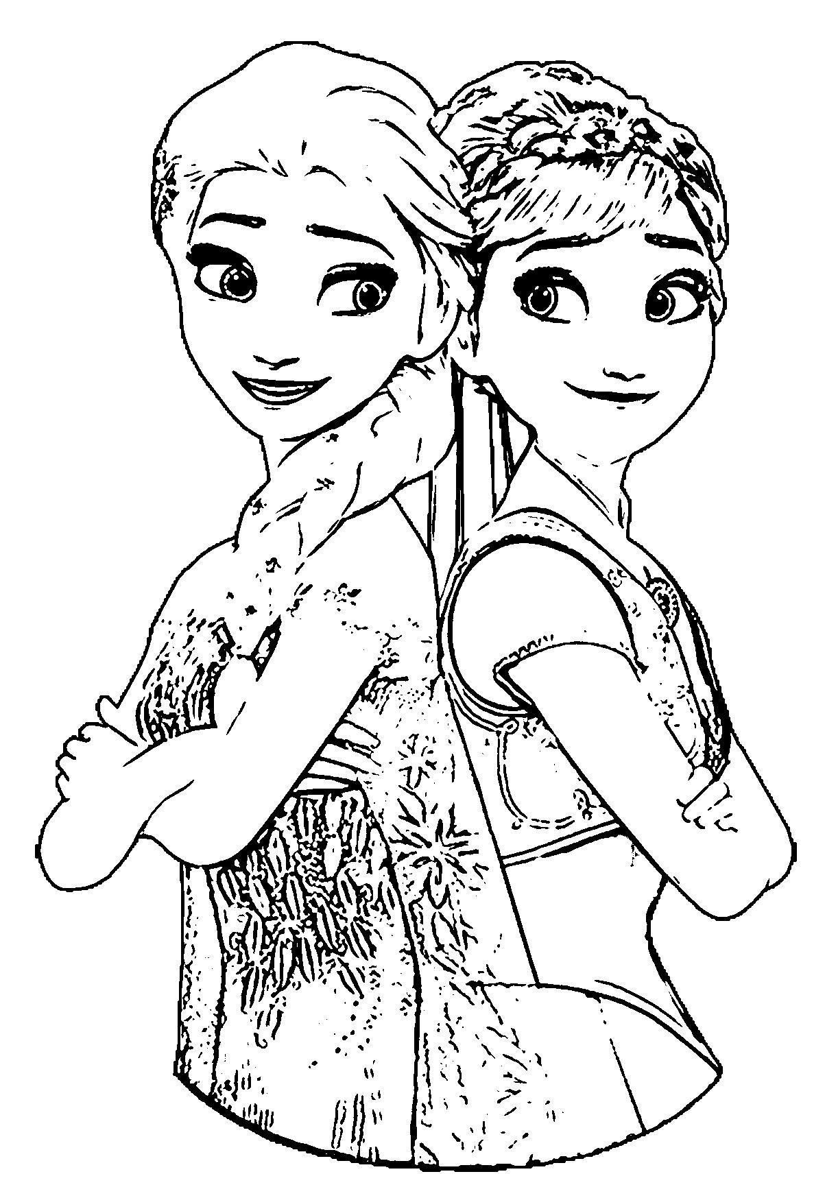 elsa pictures to color frozen cartoon coloring pages at getdrawings free download color pictures elsa to
