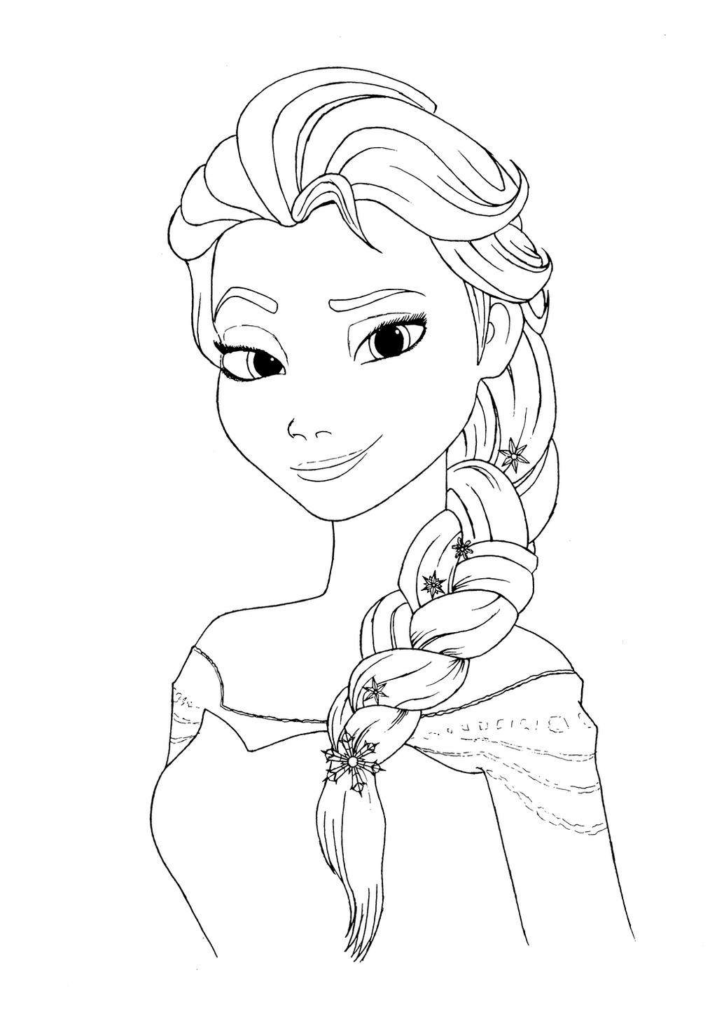 elsa pictures to color frozen fever elsa coloring pages at getdrawings free to color pictures elsa
