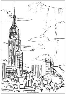 empire state building coloring page 50 empire state building ideas empire state building empire page state coloring building