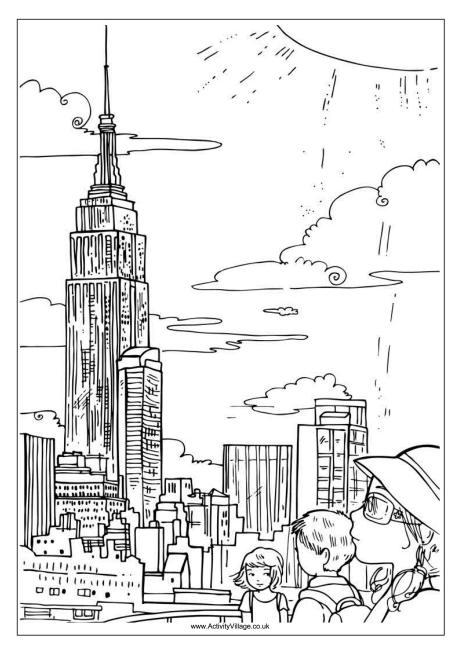 empire state building coloring page empire state building coloring page at getcoloringscom empire building page state coloring