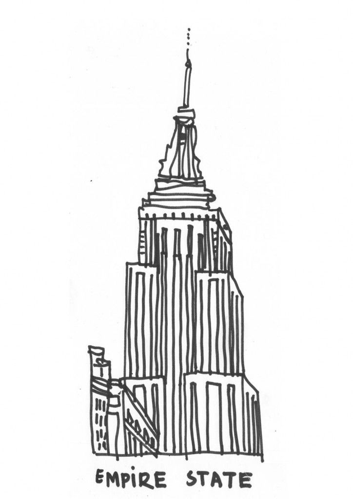 empire state building coloring page empire state building colouring page for spiderman party building empire coloring state page