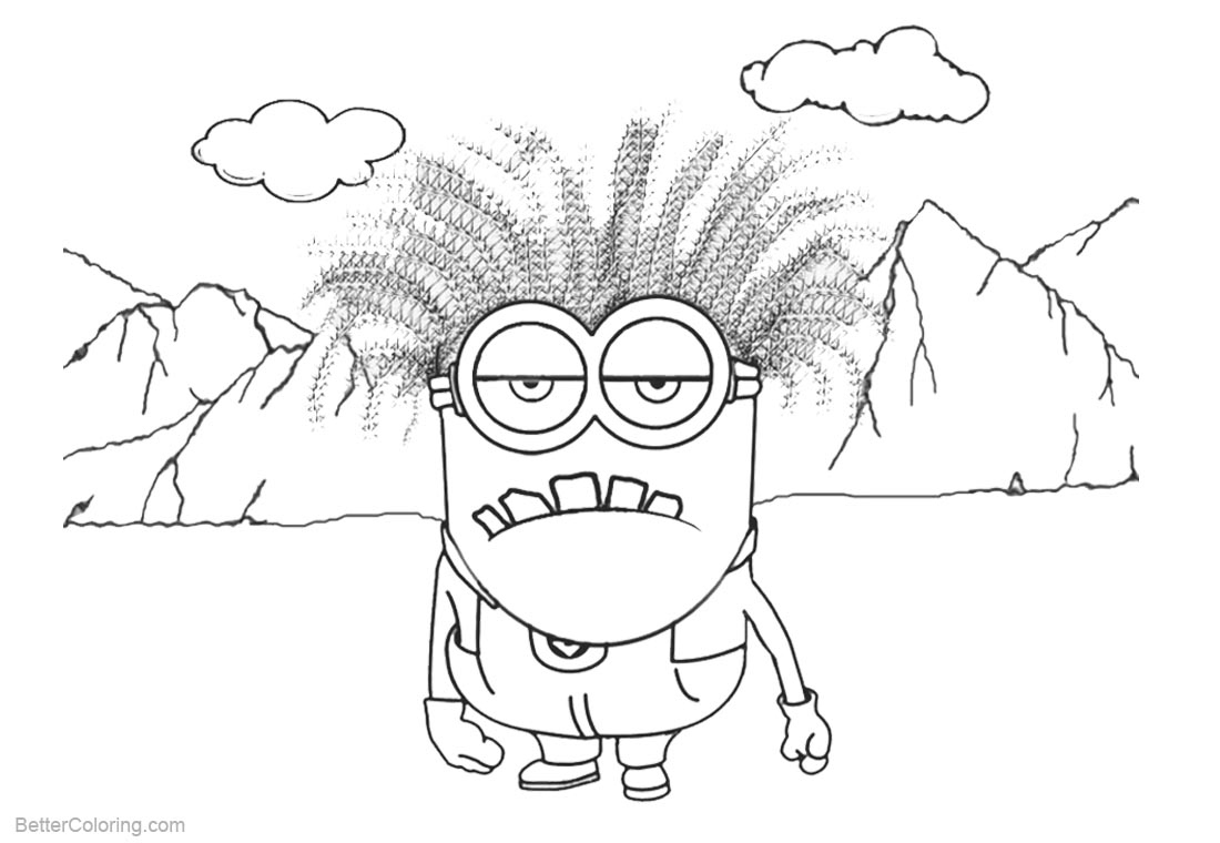 evil minion coloring pages evil minion drawing free download on clipartmag minion coloring pages evil