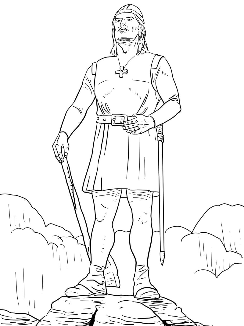 Explorers coloring pages