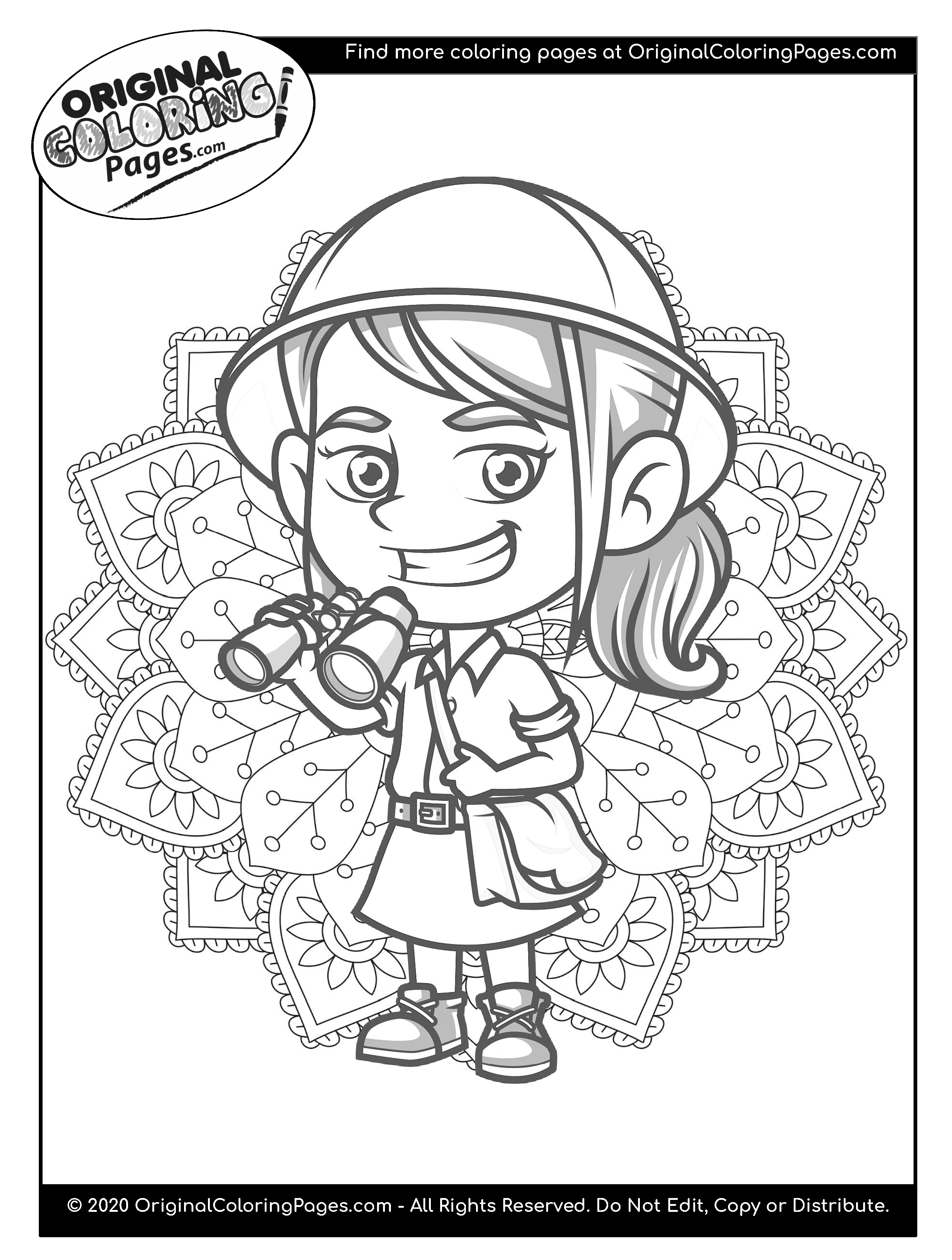 explorers coloring pages safari coloring pages at getcoloringscom free printable explorers pages coloring