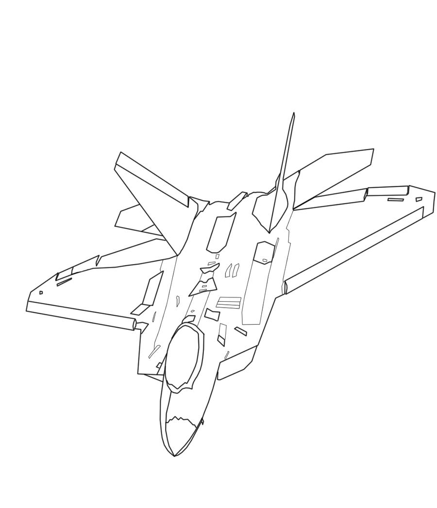 f 22 raptor coloring pages croquis f22 raptor by larmichou on deviantart coloring raptor pages 22 f