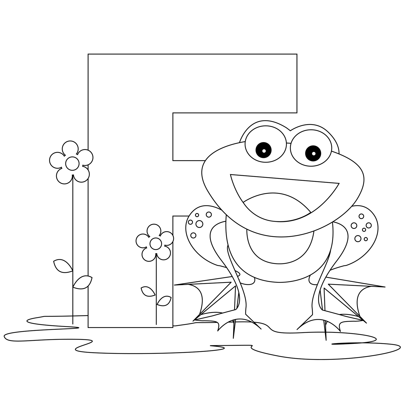 f coloring pages for preschoolers letter f is for flower coloring page free printable f for preschoolers coloring pages