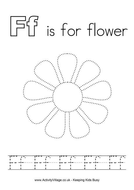 f is for flower f is for worksheet twisty noodle is f for flower