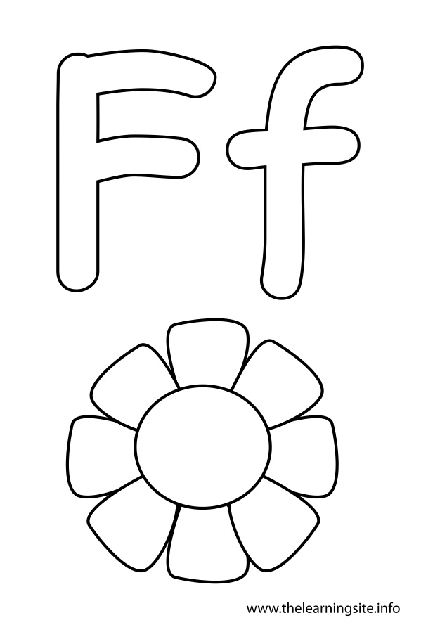 f is for flower found some free vector relate alphabetical logo design is f flower for