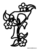 f is for flower letter f is for frog coloring page free printable for flower f is