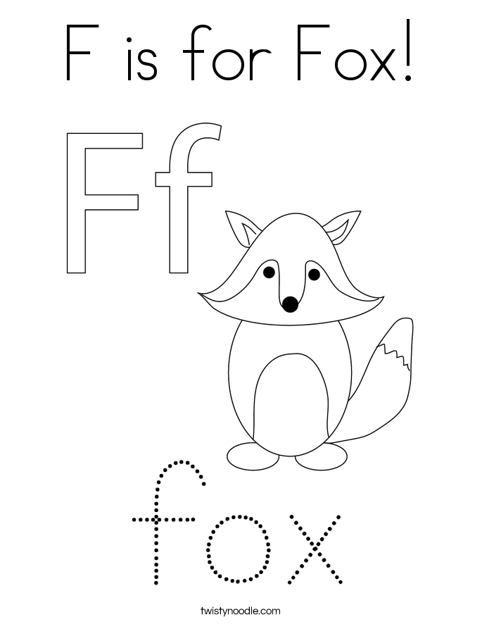 f is for fox coloring page 24 best coloring pages abc123 images on pinterest f fox for page coloring is