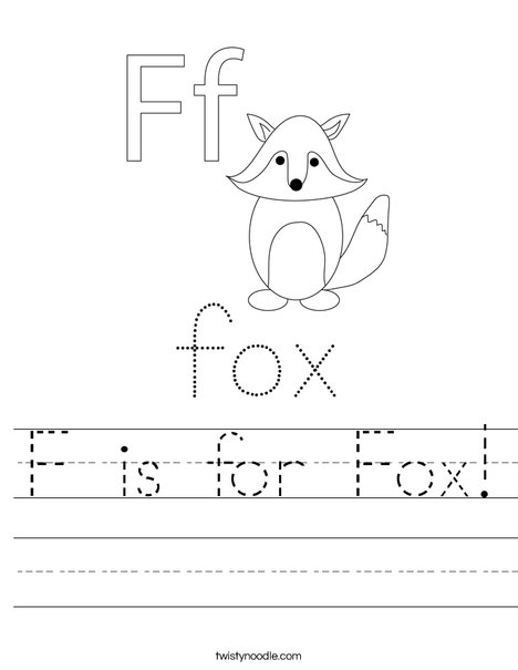 f is for fox coloring page f is for fox coloring page coloring home fox coloring f page for is