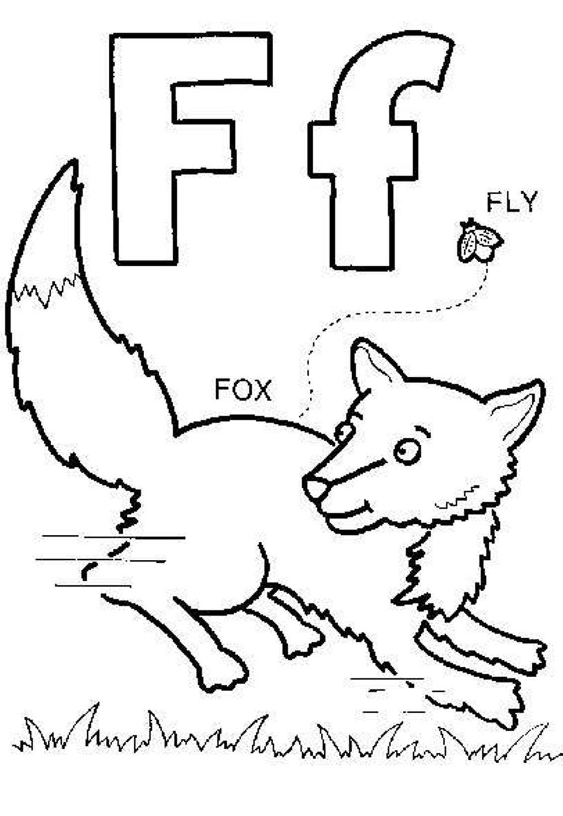 f is for fox coloring page f is for fox coloring page twisty noodle f for fox page coloring is