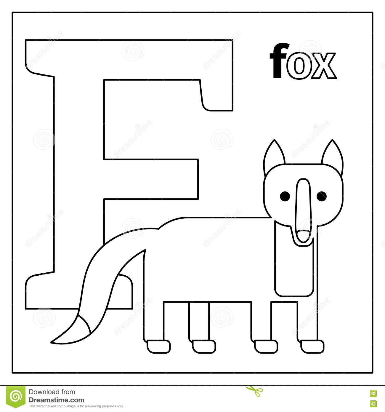 f is for fox coloring page top 10 free printable letter f coloring pages online fox for f coloring is page