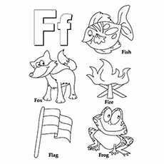 f is for fox coloring page top 10 free printable letter f coloring pages online page is fox f for coloring