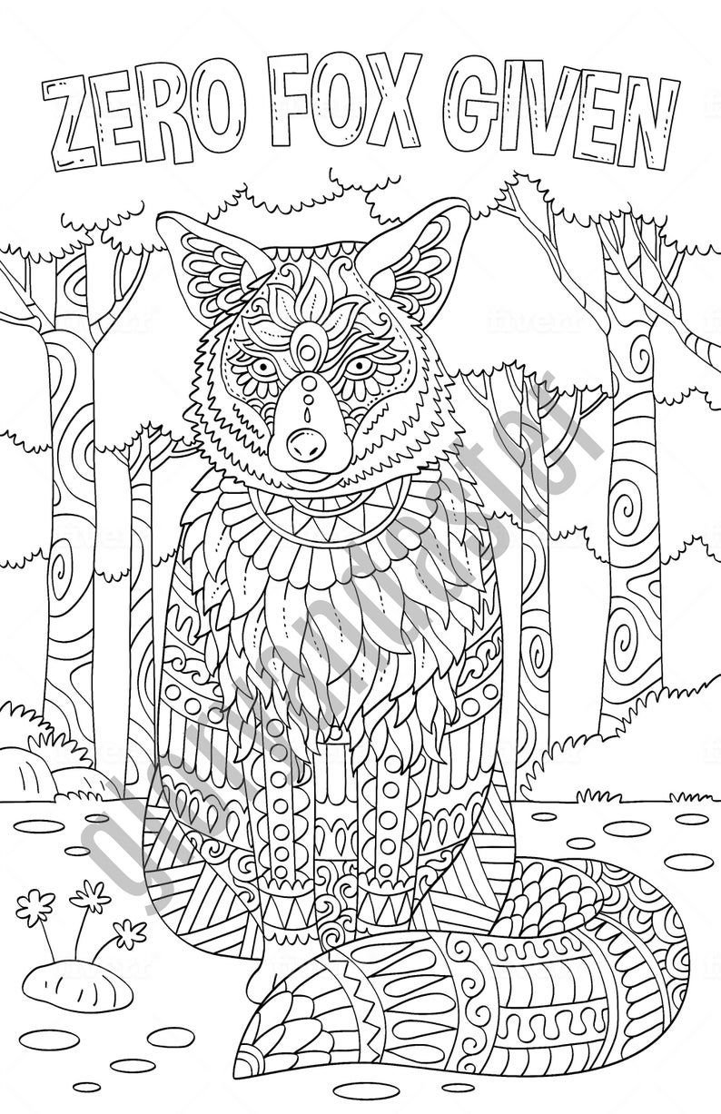 f is for fox coloring page zero fox given fox coloring page printable adult page fox coloring f is for