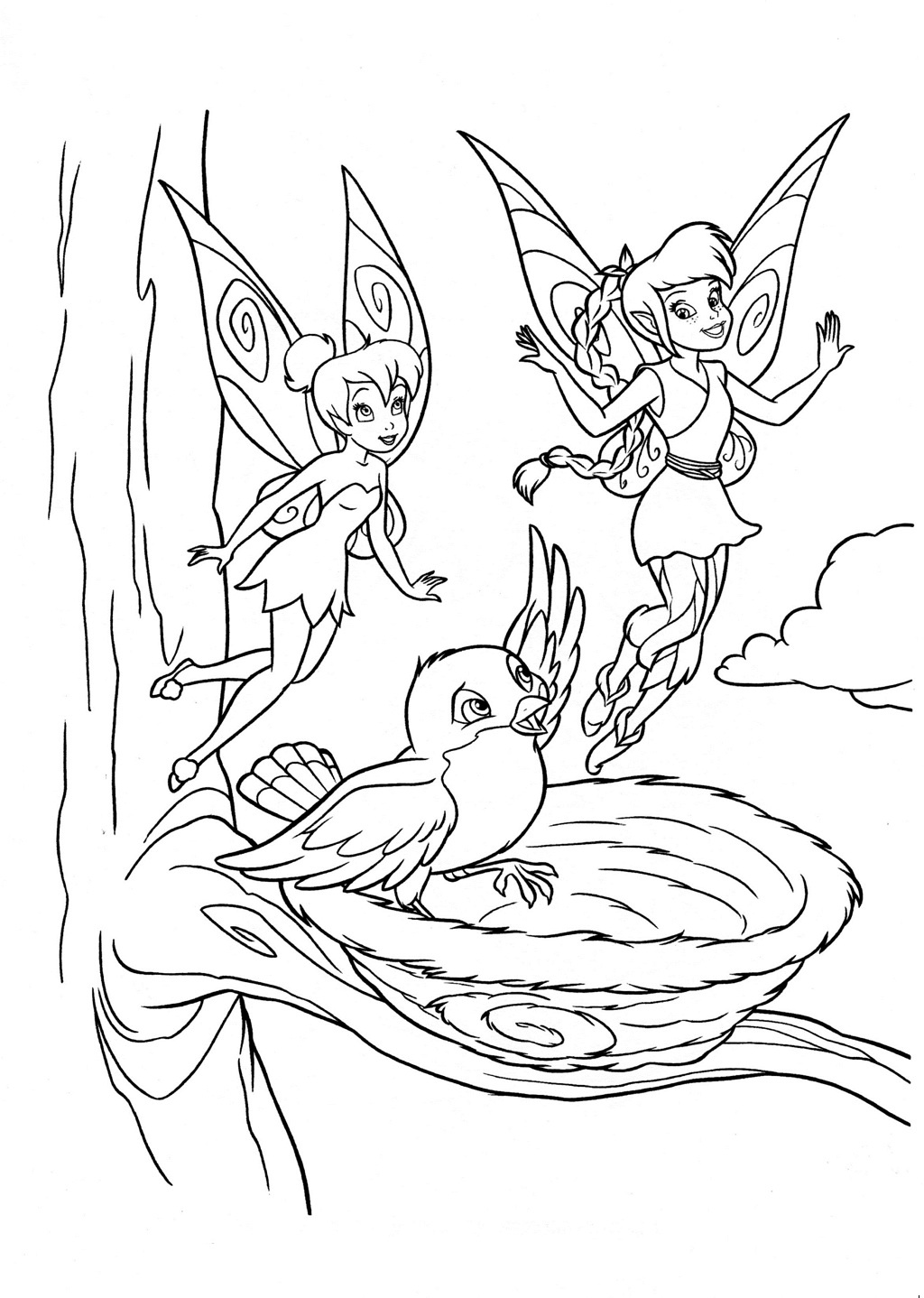 fairy coloring disney fairy coloring pages fairy coloring