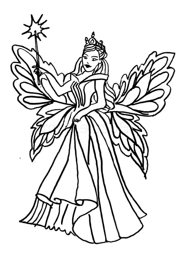 fairy coloring faerie coloring pages at getcoloringscom free printable fairy coloring