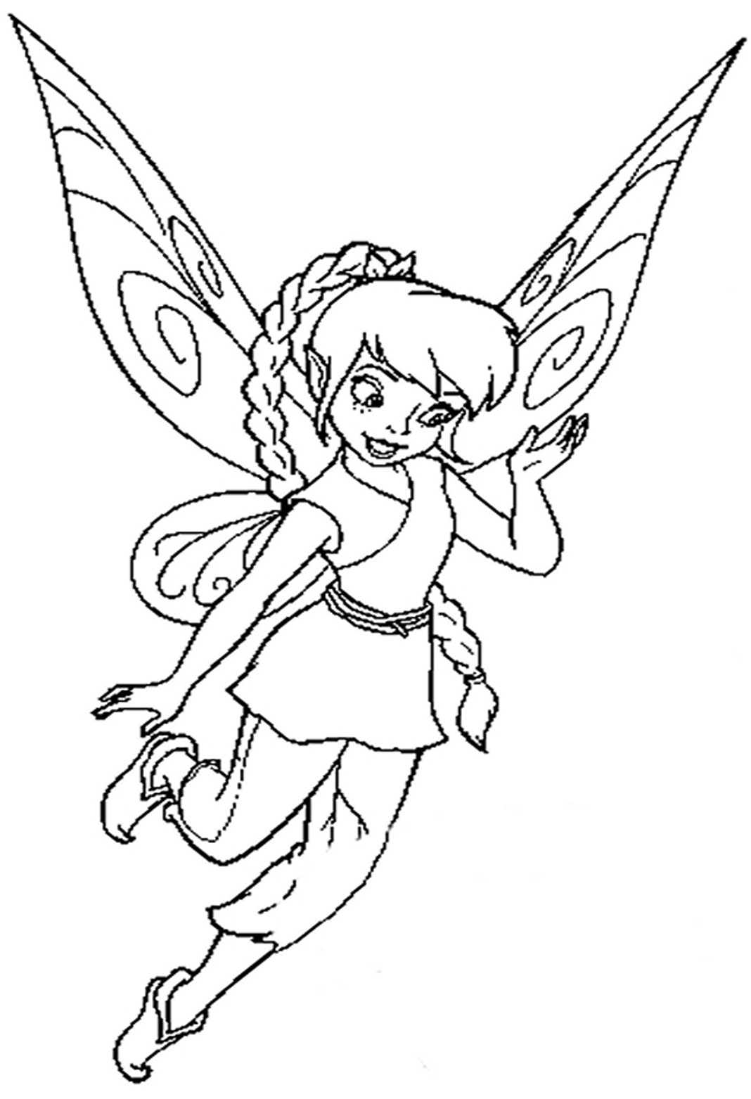 fairy coloring free printable disney fairies fawn coloring sheet coloring fairy