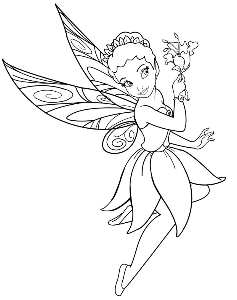 fairy coloring january 2012 coloring fairy