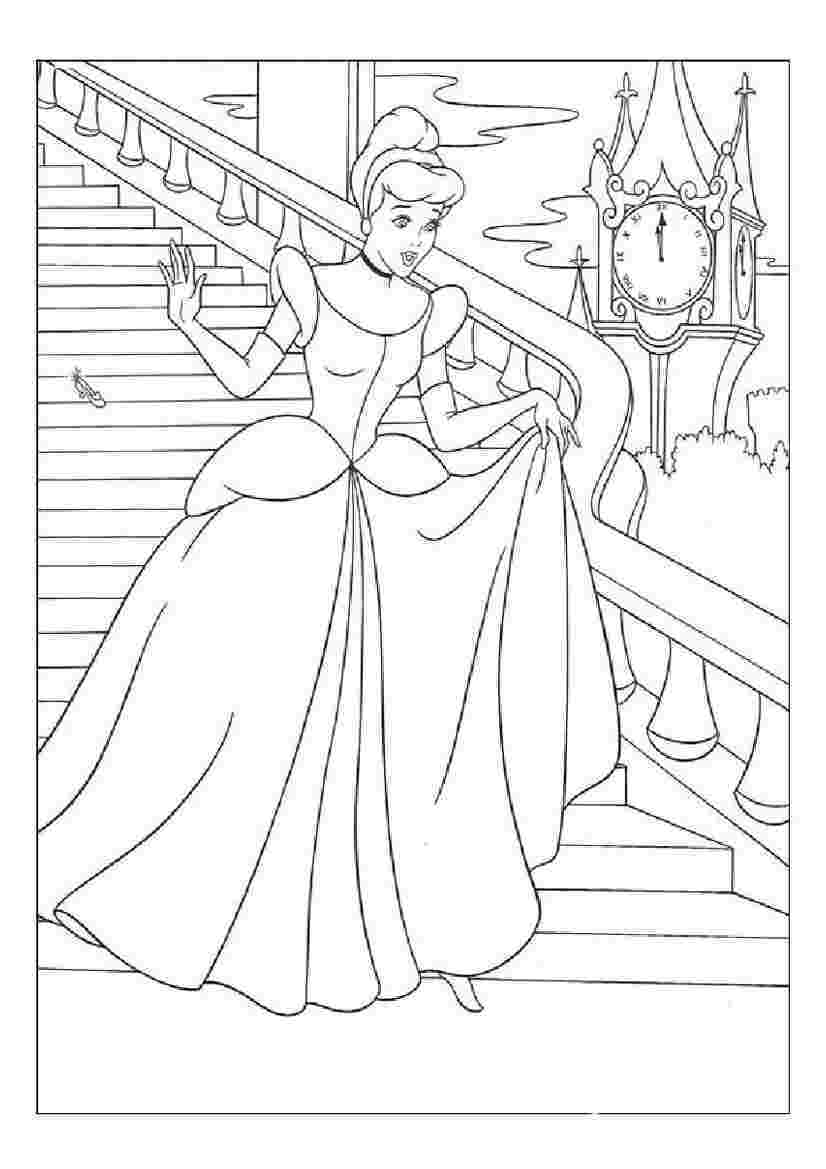 Fairy tale coloring pages free
