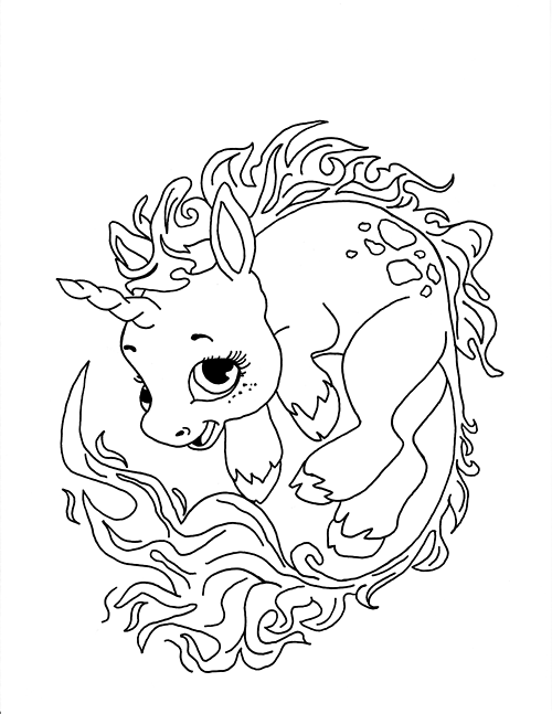 fairy with unicorn coloring pages fairy and unicorn coloring pages getcoloringpagesorg with fairy unicorn coloring pages