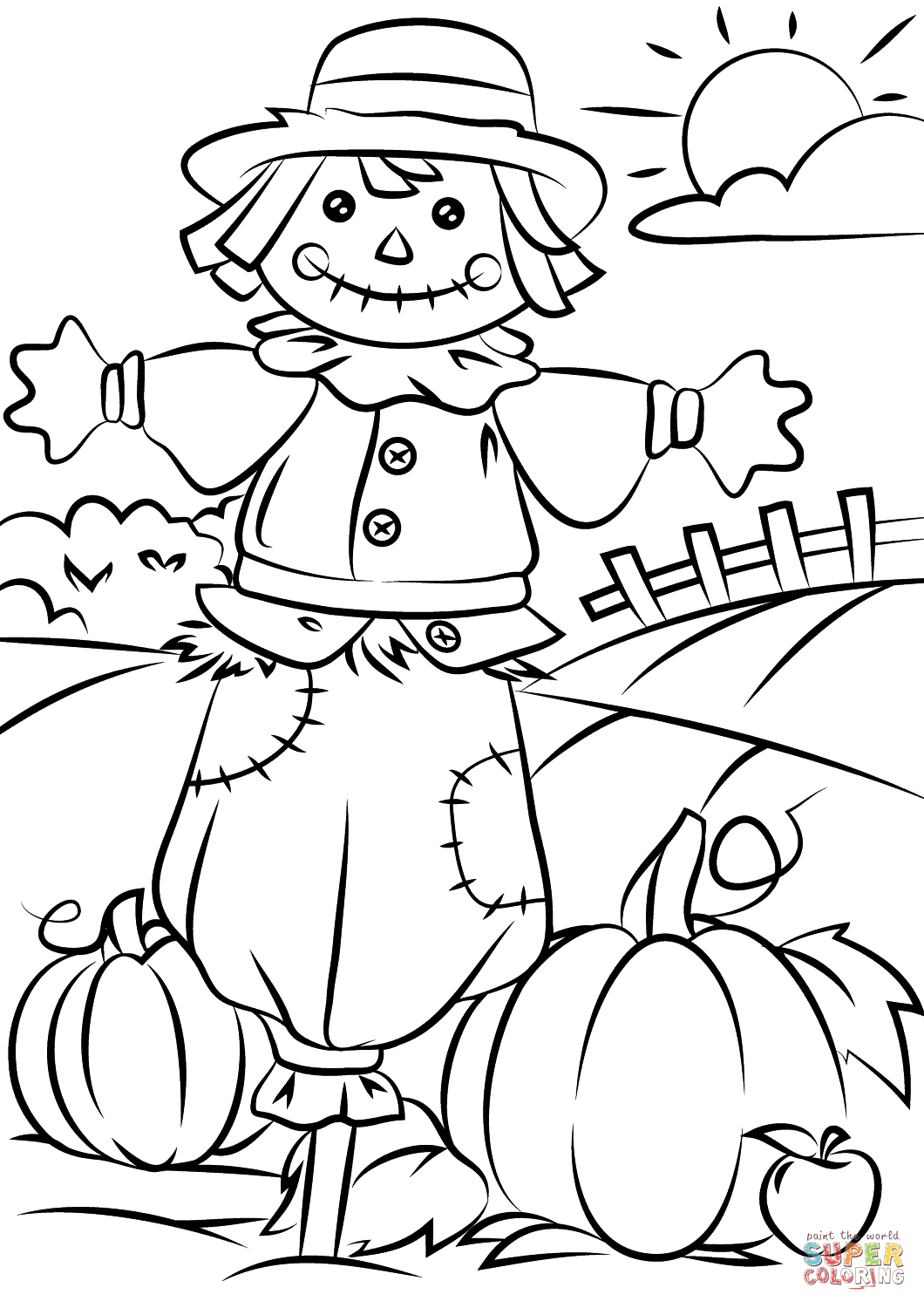 fall coloring pages fall coloring pages for kindergarten learning printable coloring fall pages