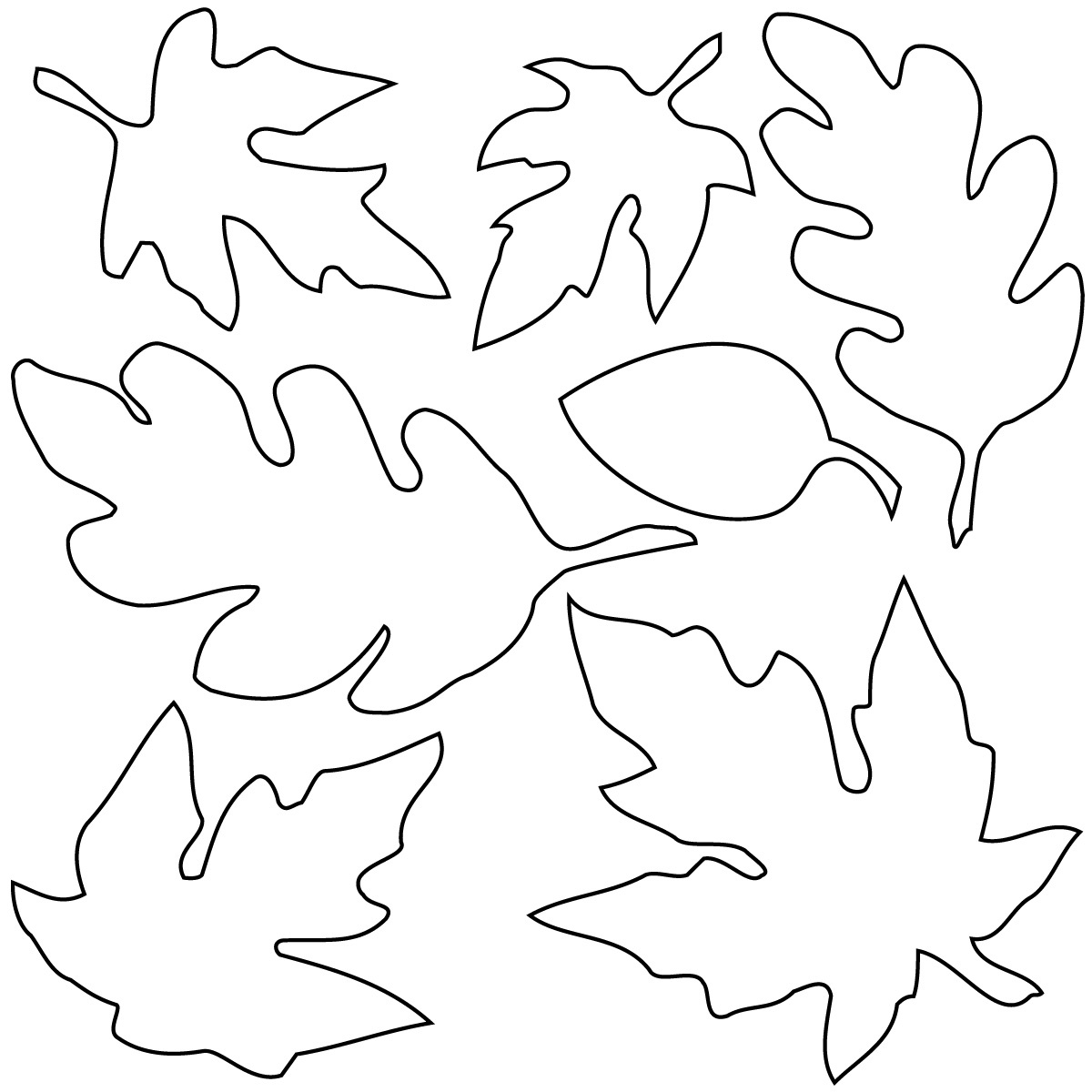 fall leaves print out autumn leaf cutouts templates clipart best out leaves print fall