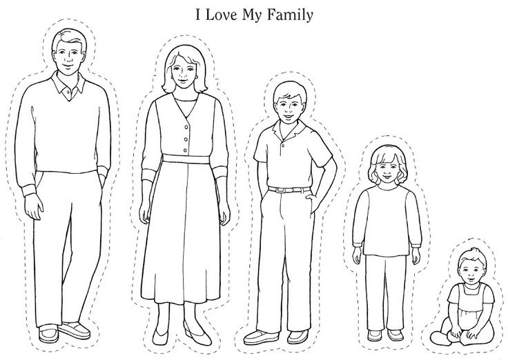 family clipart coloring 8 cartoon coloring pages jpg ai illustrator download family clipart coloring