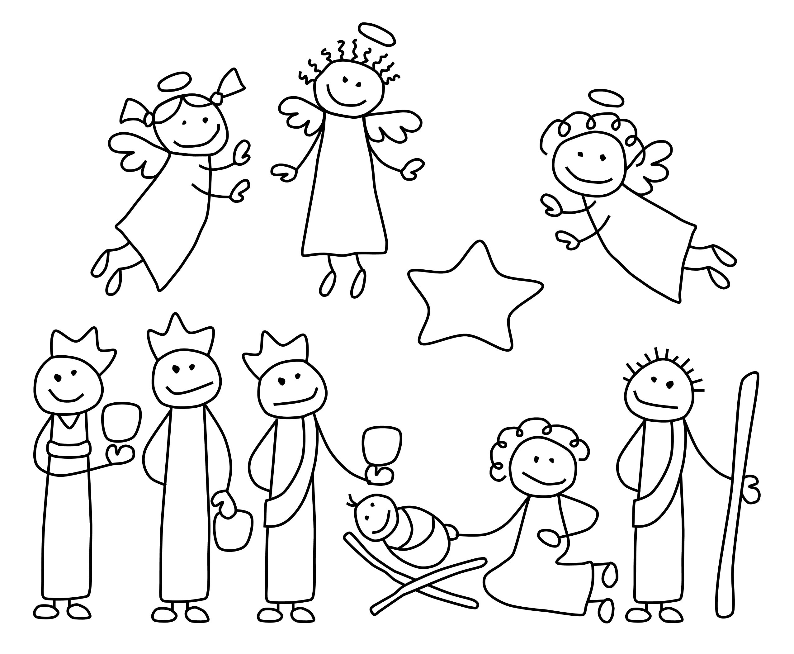 family clipart coloring cartoon family of 5 clipartsco coloring clipart family