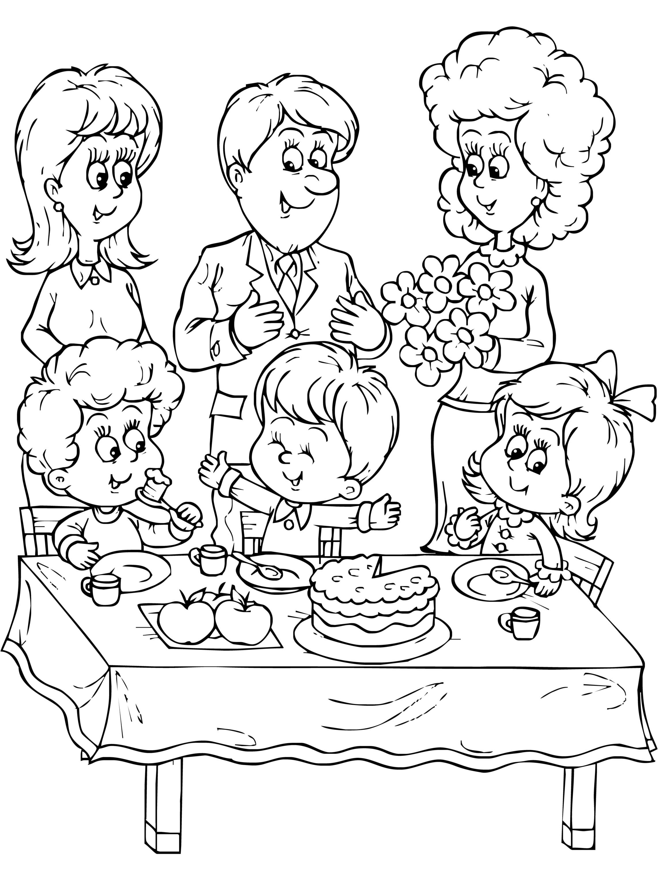 family clipart coloring free family picture coloring page download free clip art coloring family clipart