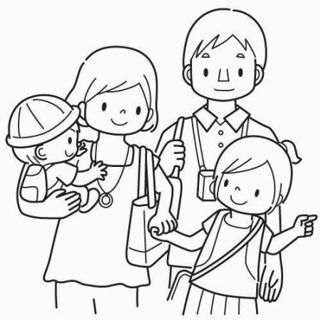 family clipart coloring free family picture coloring page download free clip art family coloring clipart
