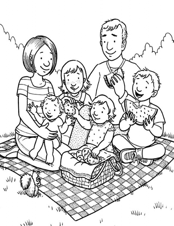 family clipart coloring get this family coloring pages free to print j6hdb clipart family coloring