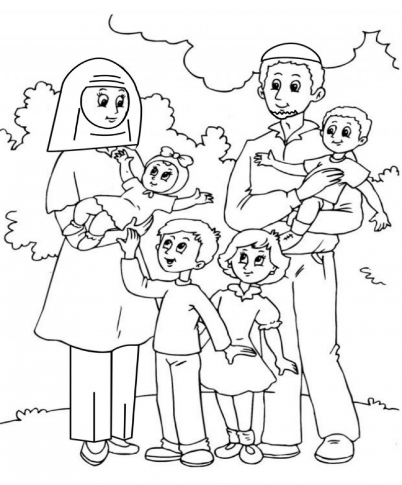 family clipart coloring get this online printable family coloring pages rczoz clipart family coloring