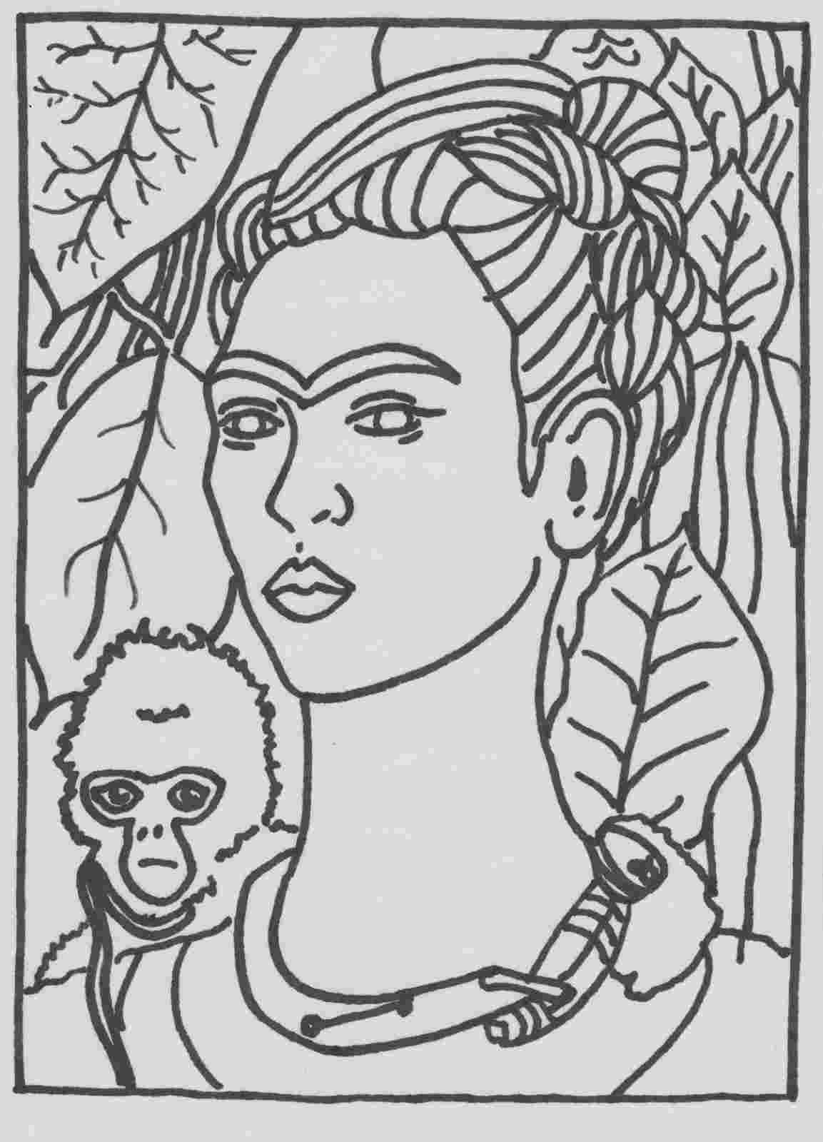 famous artists coloring pages famous art work coloring pages classroom doodles coloring famous artists pages